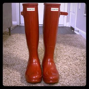 Military Red Hunter Boots
